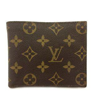 Vintage Louis Vuitton Monogram Bifold Wallet